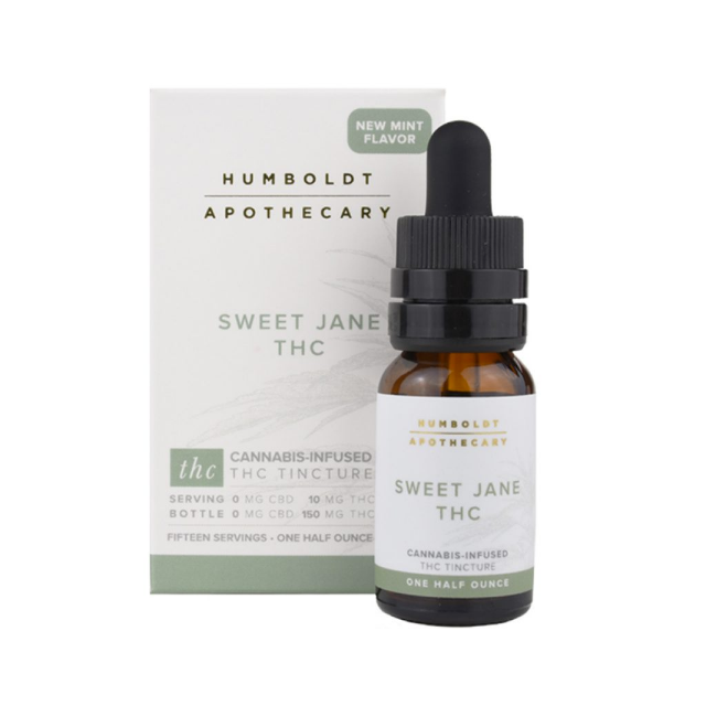 SWEET JANE THC TINCTURE 1/2OZ.