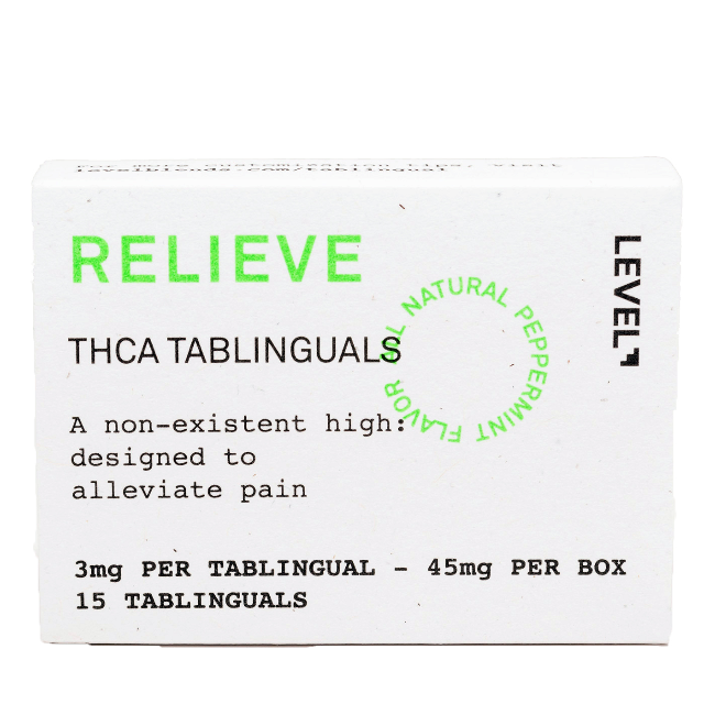 LEVEL RELIEVE THCA TABLINGUAL