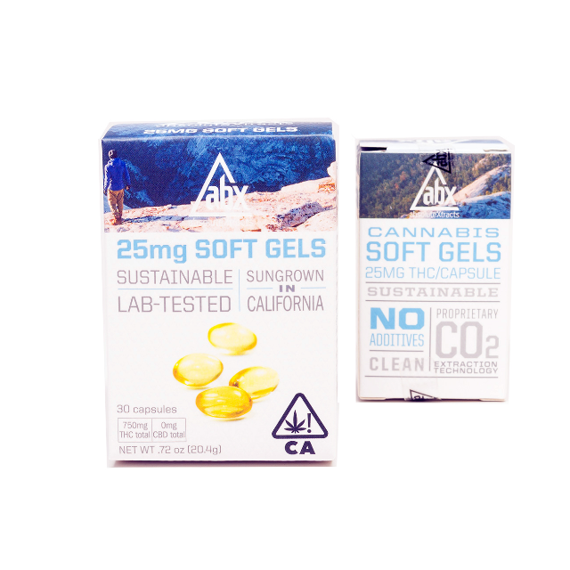 ABX 25MG SOFT GELS (30 CT.)