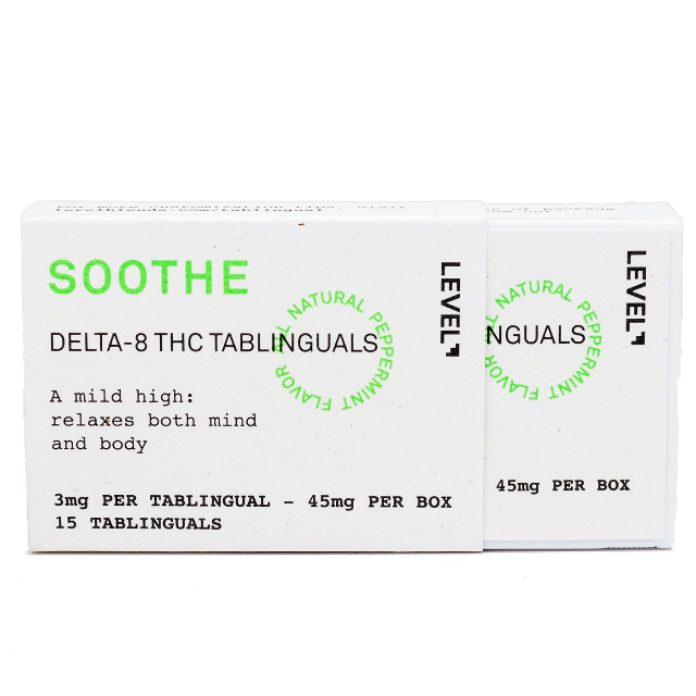 LEVEL SOOTHE DELTA-8 THC TABLINGUAL