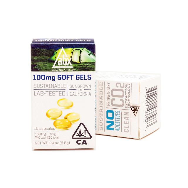 ABX 100MG SOFT GELS (10 CT.)