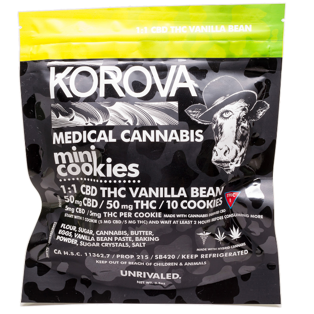 KOROVA  MINI CBD SUGAR COOKIES 1:1