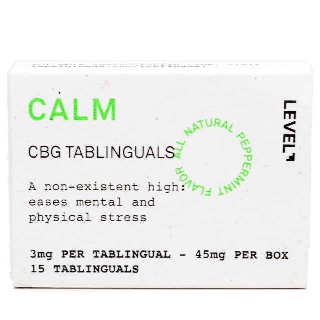CALM CBG TABLINGUAL