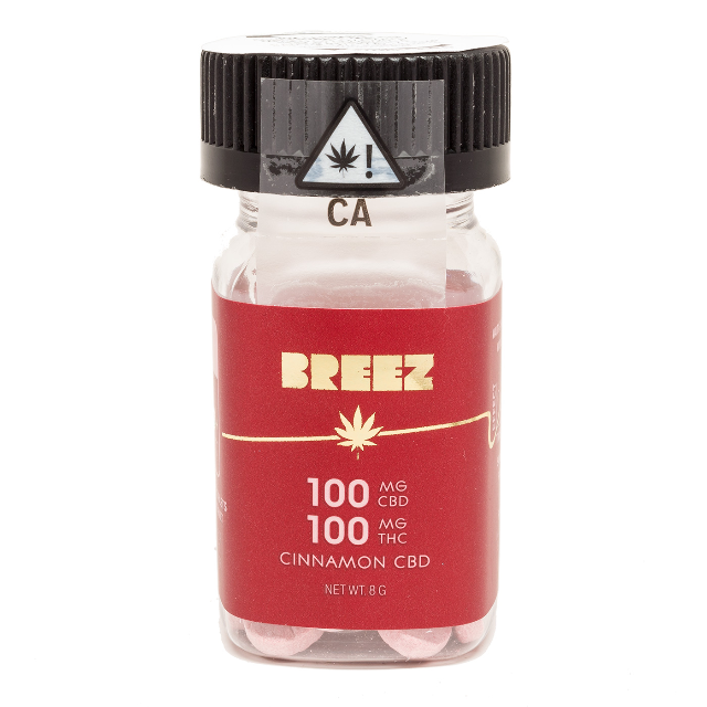 BREEZ CINNAMON 1:1 TABLETS 20CT