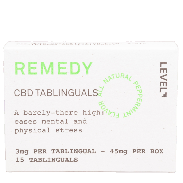 LEVEL REMEDY CBD TABLINGUAL