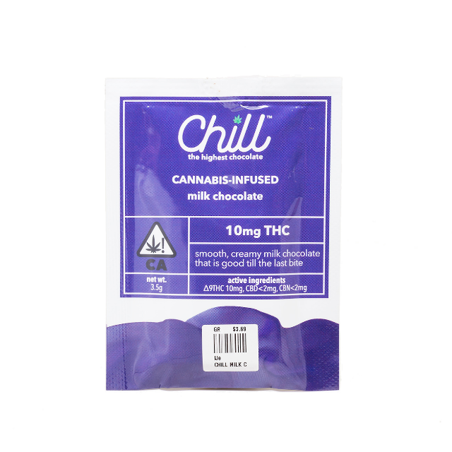 CHILL MILK CHOCOLATE SINGLE