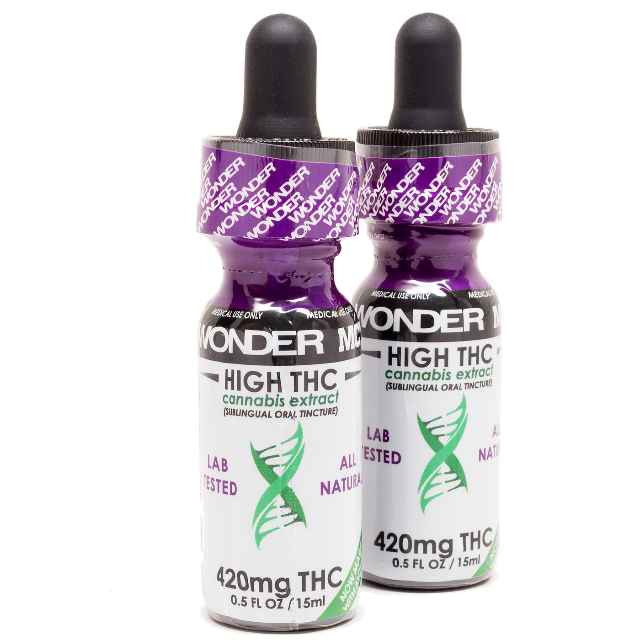 WONER HIGH THC TINCTURE